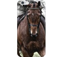 Horse and rider iPhone Case/Skin