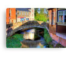 Bridge over the Powmillon Burn Canvas Print