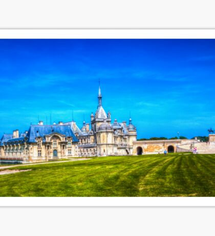 Chateau de Chantilly 3 Sticker