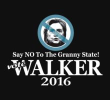 No Granny State - Walker T-Shirt