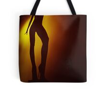 Surrealist young lady nude ra4 darkroom print from c41 color35mm analog female nude fine art erotica Tote Bag