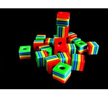 Cubes Photographic Print