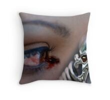 Eye of Darkness Throw Pillow