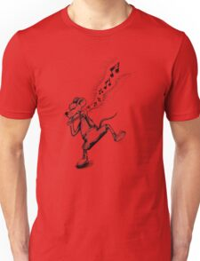 Mouse plays the Blues Unisex T-Shirt