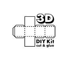 3D Do it Yourself Kit Photographic Print