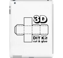 3D Do it Yourself Kit iPad Case/Skin