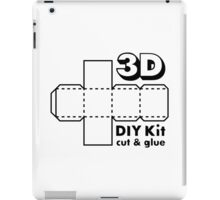 3D Do it Yourself Kit iPad Case/Skin