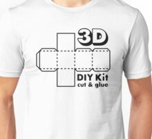 3D Do it Yourself Kit Unisex T-Shirt