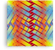 Folding colors Canvas Print