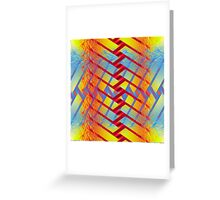 Folding colors Greeting Card