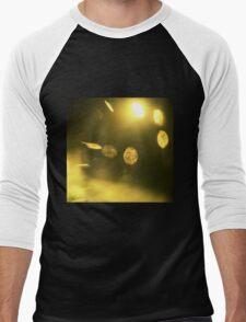 Gold bullion 999.9 abstract still life square Hasselblad medium format  c41 color film analogue photo Men's Baseball ¾ T-Shirt