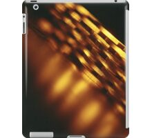 Gold bullion 999.9 coins still life square Hasselblad medium format  c41 color film analogue photograph iPad Case/Skin