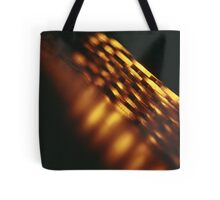 Gold bullion 999.9 coins still life square Hasselblad medium format  c41 color film analogue photograph Tote Bag
