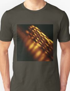 Gold bullion 999.9 coins still life square Hasselblad medium format  c41 color film analogue photograph T-Shirt