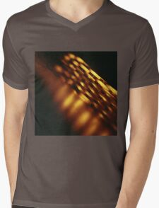Gold bullion 999.9 coins still life square Hasselblad medium format  c41 color film analogue photograph Mens V-Neck T-Shirt