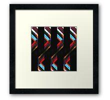 Folding Ribbon Framed Print