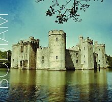 Bodiam Castle, East Sussex by Ludwig Wagner