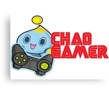 Chao Gamer Canvas Print