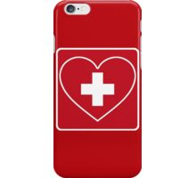 Get Well Soon, Doctor, Heart, First Aid, Swiss Army, Victorinox, Sexy Nurse iPhone Case/Skin