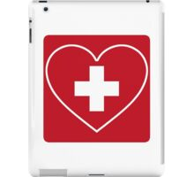 Get Well Soon, Doctor, Heart, First Aid, Swiss Army, Victorinox, Sexy Nurse iPad Case/Skin