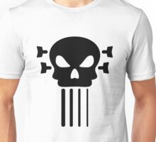 Bass guitar and skull Unisex T-Shirt