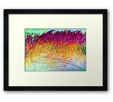 Brush Fire-Available As Art Prints-Mugs,Cases,Duvets,T Shirts,Stickers,etc Framed Print