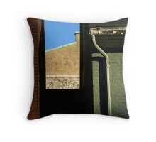 A \'slot' canyon in  Harrisburg, Pa Throw Pillow