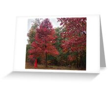 Rouge Autumn 1 Greeting Card
