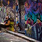 Alley life - Graffiti  Melbourne by Rosina  Lamberti