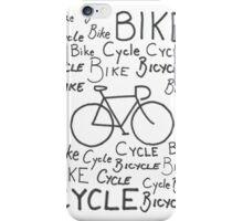 Bikes everywhere iPhone Case/Skin