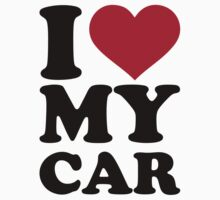 I love my car by Designzz