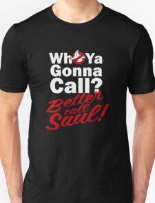 Ghostbusters Better Call Saul - Black version T-Shirt