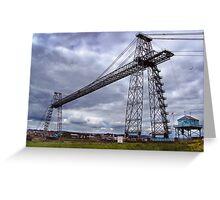 newport transporter bridge Greeting Card