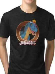 Cryolophosaurus Jurassic! Tri-blend T-Shirt