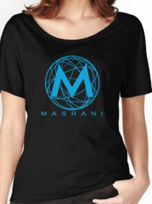 Masrani Blue Women's Relaxed Fit T-Shirt