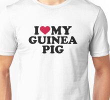 I love my Guinea pig Unisex T-Shirt