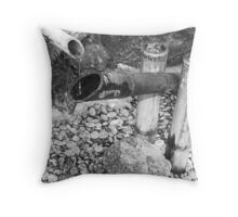 Deer Chaser Throw Pillow