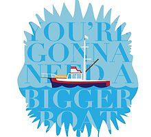 A Bigger Boat by Plego