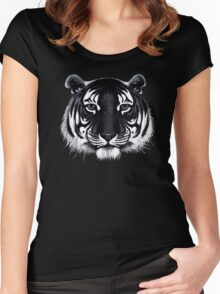 Friendly Tiger  Women's Fitted Scoop T-Shirt