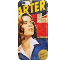 Agent Carter is Miss Union Jack iPhone Case/Skin
