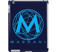 Masrani Blue iPad Case/Skin