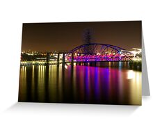 O2 Riverside Greeting Card