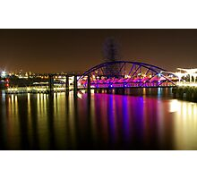 O2 Riverside Photographic Print
