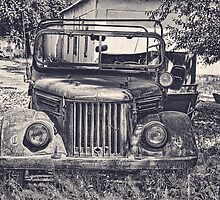 Old Soviet Jeep by Kadwell