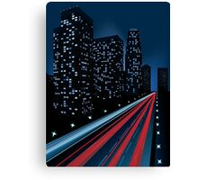 Night city Canvas Print