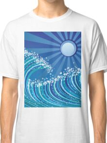 Sea waves Classic T-Shirt