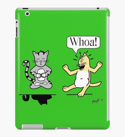 Kitty Zen iPad Case/Skin