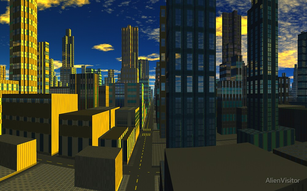 City of Silence by AlienVisitor
