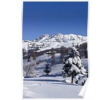A snowy landscape Poster