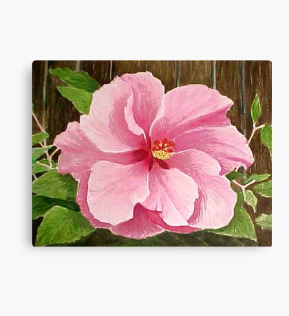 Double Pink, 2003 watercolor Canvas Print